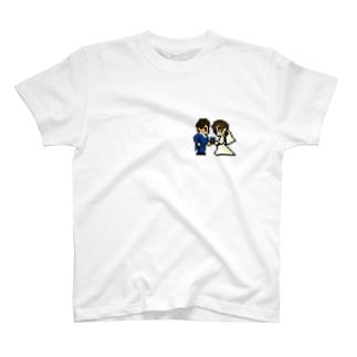 ウェディングドッツ by Kato Family T-shirts