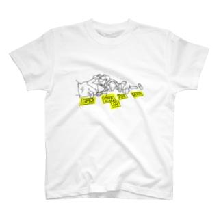 ドイツのホームレス with 犬 T-shirts
