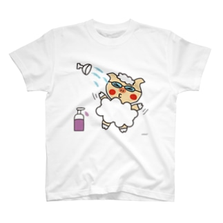 わーい!シャワーだ! T-shirts