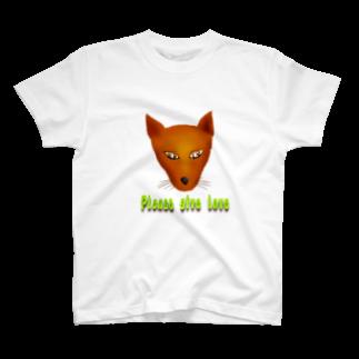 Qsarkの愛をください T-shirts