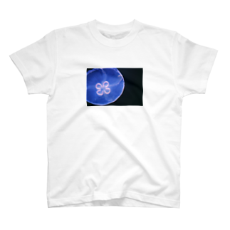 しおみやの思考のラッキーなクラゲ T-shirts