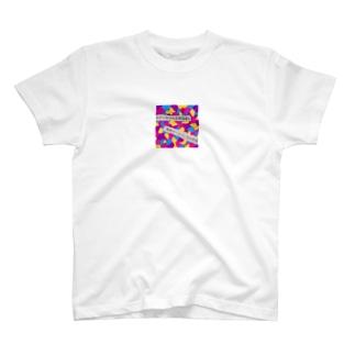 """キティちゃんとお泊  """"無料サービス""""当局警戒 T-shirts"""