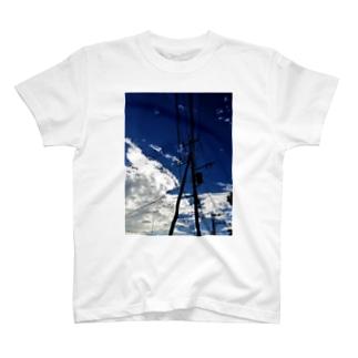 スカイブルー2 T-shirts
