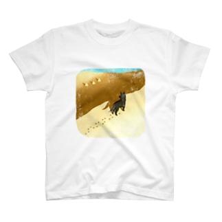 One Dog a Dayの9.22 砂漠の民 T-shirts
