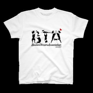 六㐂兵衛(ろっきへえ)のボストンテリア同好会(BTA) T-shirts