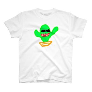 サボテン T-shirts