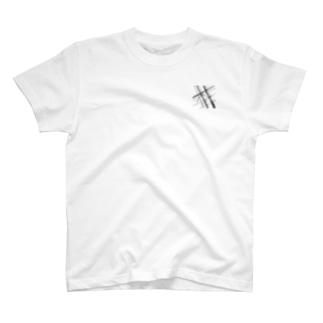 電線9 T-shirts