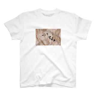 くしゃくしゃの紙 T-shirts