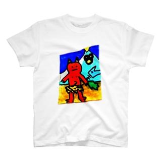 鬼ヶ島 T-shirts