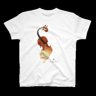 水無月堂のバイオリン T-shirts