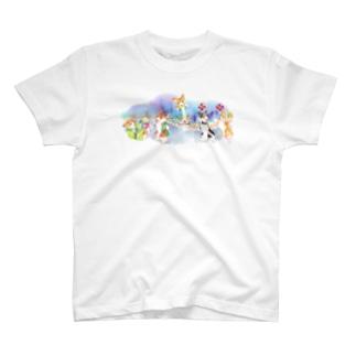 お祭りだワン T-shirts
