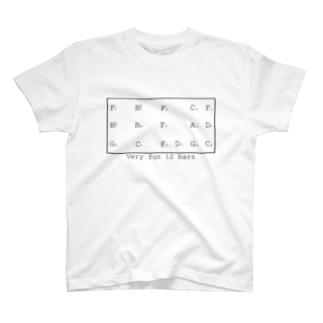 Jazz Blues  inF T-shirts