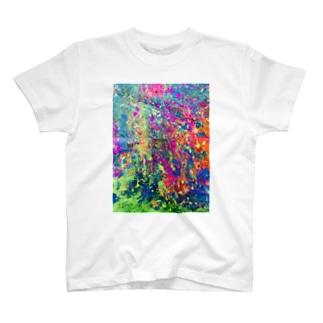 カラフルぱにっく T-shirts