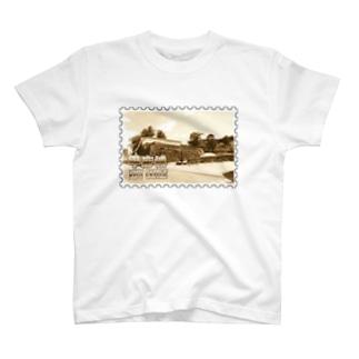 日本の城:甲府城(舞鶴城)★白地の製品だけご利用ください!! Japanese castle: Kofu castle ( Maizuru castle)★Recommend for white base products only !! T-shirts