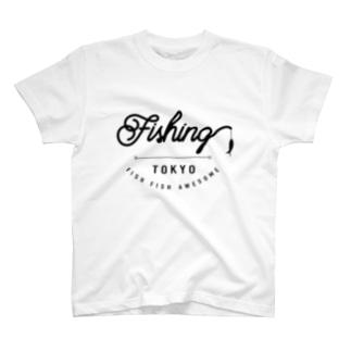 FFA_fishing Tシャツ T-Shirt