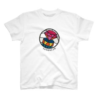 Sendai.rbロゴ(大) T-shirts