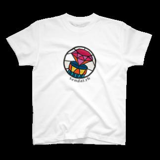 イノたまごラボのSendai.rbロゴ(大) T-shirts