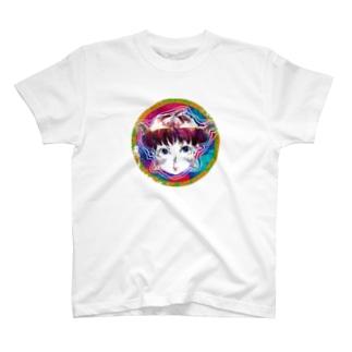 鼻血ガール T-shirts