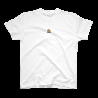 株式会社猫 (Aloha Mac Creation)のオリジナルニャンコ(majio店長顔だけVer) T-shirts
