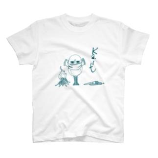 寒がりの鳥っぽいなにか T-shirts