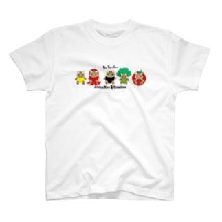 株式会社猫 まじお店長の弁当シリーズLINEver T-shirts