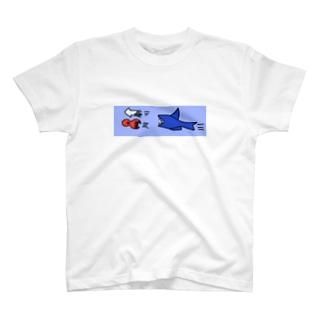 サメさん イカさん タコさん T-shirts