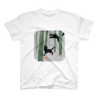 One Dog a Dayの9.24 森の魔物 T-shirts