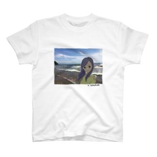 Beach Girl Photo T-shirts