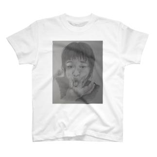天神変顔  ひよこ T-shirts