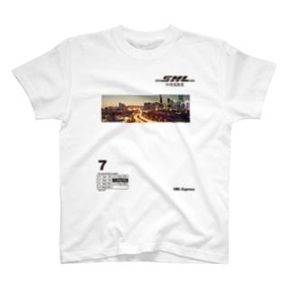 SML Express中侍道敦豪 T-shirts
