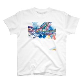 toitoitoi ブランニューケモノロード T-shirts