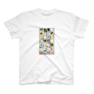 僕のiPhoneのアプリ T-shirts