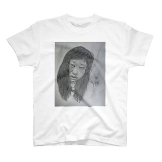 天神髪ボサ T-shirts