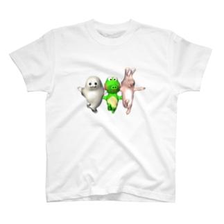 野生の掟 T-shirts