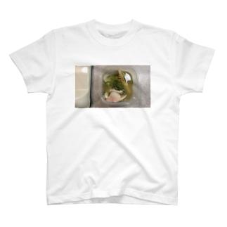 ハマグリの酒蒸し T-shirts
