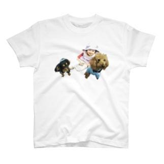 さん兄弟 T-shirts