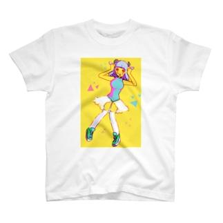 ハロー!ヒツジさん T-shirts