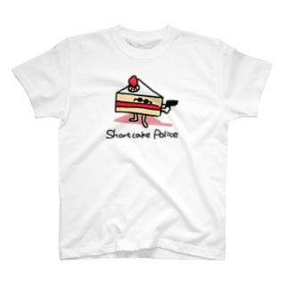ショートケーキポリス T-shirts