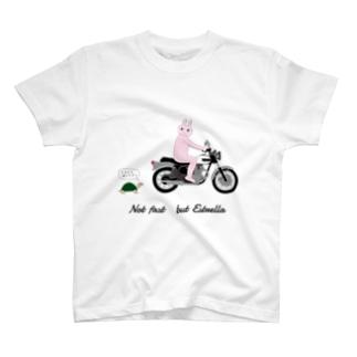 ウサギとカメ T-shirts