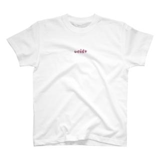 void♡ -chihedo PINK- T-shirts