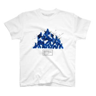 Body of the City (BLUE) T-shirts