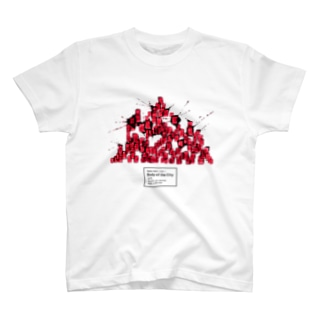 Body of the City (RED) T-shirts