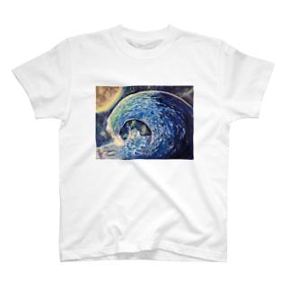 青の波 T-shirts