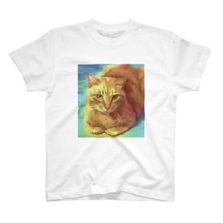近所のねこさん T-shirts