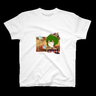 海宮 月のたんていちゃん T-shirts