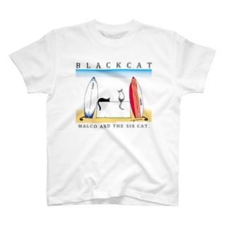 Black Cat-TypeA T-shirts