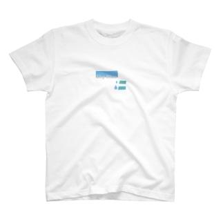 skyblue  水色 T-shirts