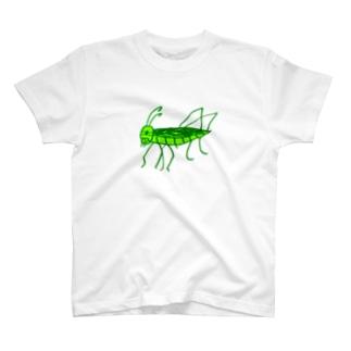 トノサマバッタ T-shirts