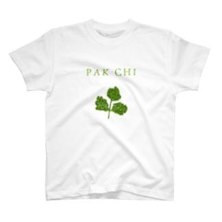 パクチー T-shirts