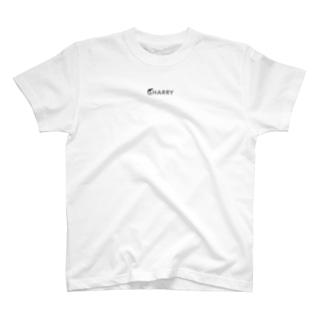 SHARRY(ロゴ小)#黒 T-shirts